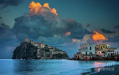 Castello Photograph - Castello Aragonese by Inge Johnsson