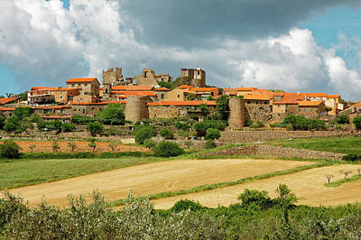 Photograph - Castelo Rodrigo Medieval Village by Sally Weigand