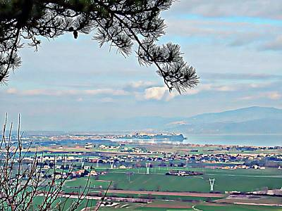 Photograph - Castiglione Del Lago Viewed From Panicale by Dorothy Berry-Lound