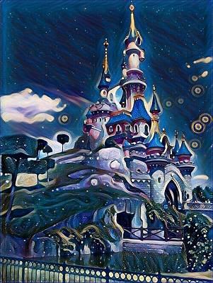 Painting - Castile by Rahmi Mainur