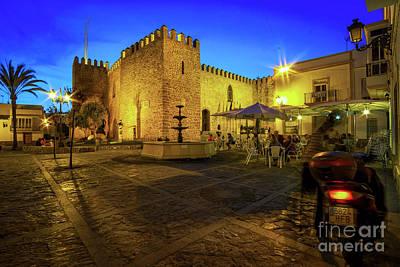 Photograph - Castillo De Luna Rota Cadiz Spain by Pablo Avanzini