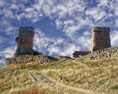 Photograph - Castillo De Palenzuela by Anthony Dezenzio