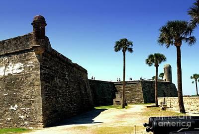 Photograph - Castillo De San Marcos Fort St. Augustine Florida by Bob Pardue