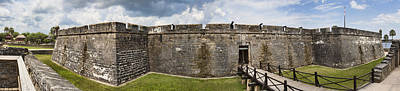 Photograph - Castillo De San Marcos by Gregory Scott