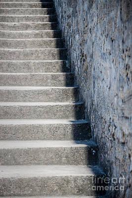 Photograph - Castillo De San Marcos Stairway No. 2 by Todd A Blanchard