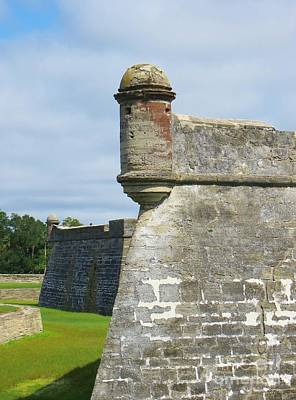 Photograph - Castillo De San Marcos by Tim Townsend