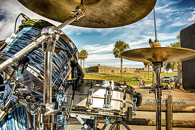 Photograph - Castillo Drums by Joedes Photography