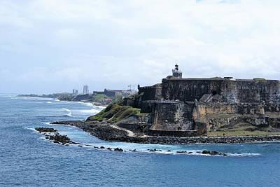 Photograph - Castillo San Felipe Del Morro by Lois Lepisto