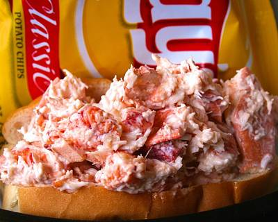 Photograph - Castine Variety Lobster Roll by Polly Castor