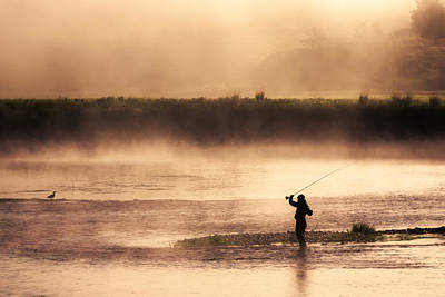 Wade Fishing Photograph - Casting Away by Todd Klassy