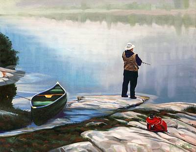 Painting - Casting Out by Phil Chadwick