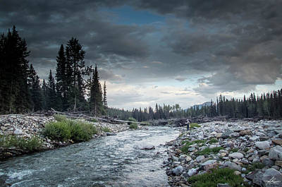 Photograph - Casting To Cutthroat On A Cold Mountain Stream by Philip Rispin