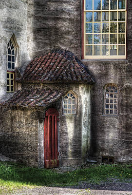 Photograph - Castle - The Hidden Door In The Back by Mike Savad