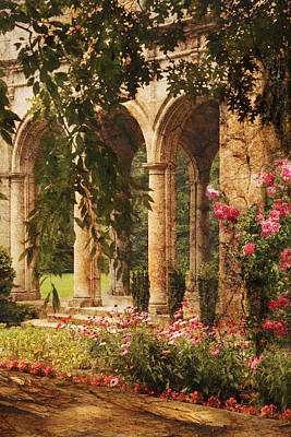 Photograph - Castle - The Secret Garden by Mike Savad