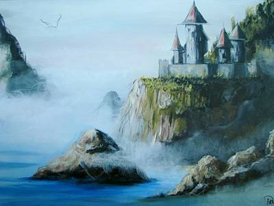 Painting - Castle At Dragon Point by Patricia Kanzler