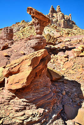Photograph - Castle Balanced Rocks by Ray Mathis