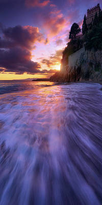 Photograph - Castle Beach 2 by Giovanni Allievi