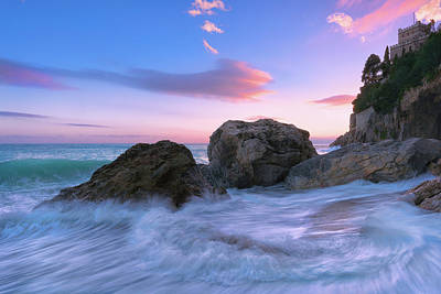 Photograph - Castle Beach by Giovanni Allievi