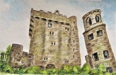 Painting - Castle Blarney by Laurie Morgan