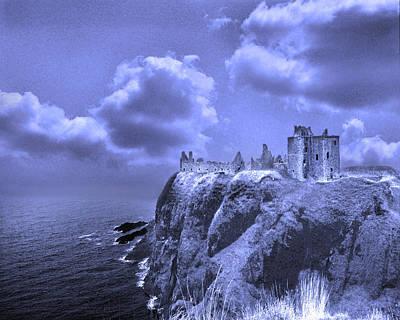 Castle Blue Art Print
