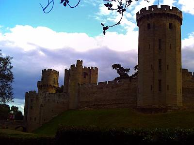Warwick Castle Photograph - Castle Branches by Lisa Byrne