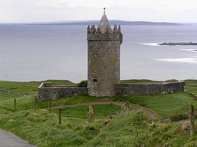 Castle By The Sea In Ireland Art Print