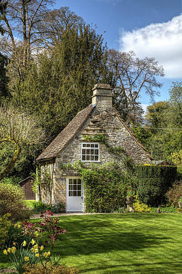 Wall Art - Photograph - Castle Combe Cottage by Soroush Mostafanejad