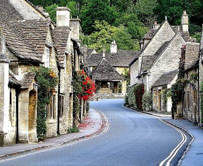 Castle Combe Art Print by Diane Height