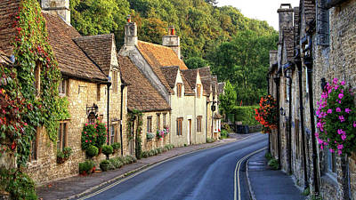 Photograph - Castle Combe High Street by Michael Hope