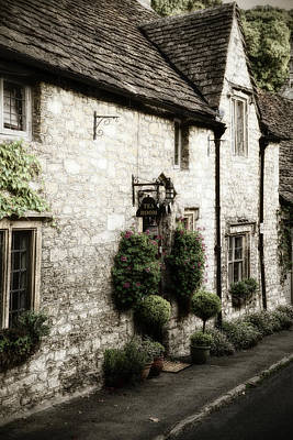 Photograph - Castle Combe Old Tea Room by Michael Hope