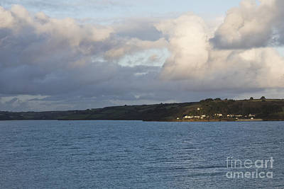 Photograph - Castle Cove Houses St Mawes by Terri Waters