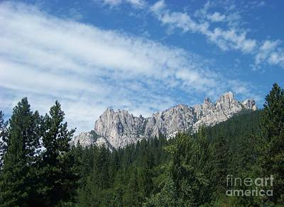 Castle Crags Art Print by Charles Robinson
