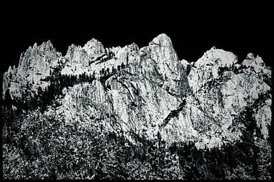 Photograph - Castle Crags by Roger Passman