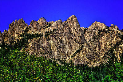 Photograph - Castle Crags State Park by Roger Passman