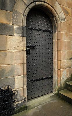 Photograph - Castle Door by Jean Noren