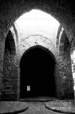 Paphos Photograph - Castle Dungeon by John Rizzuto