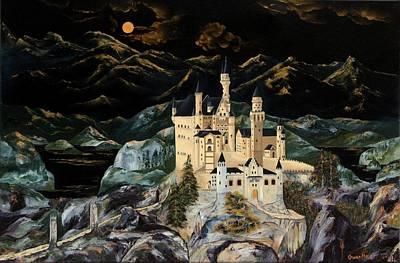 Castle Print by Gwen Rose