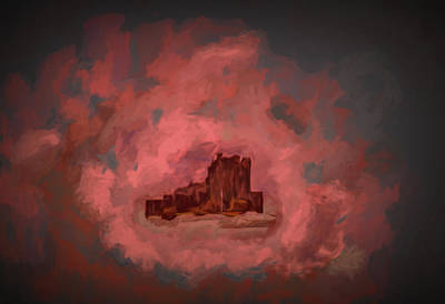Digital Art - Castle #h1 by Leif Sohlman