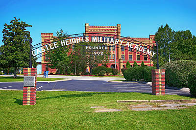 Photograph - Castle Heights Military Academy Lebanon Tn, Usa by Chris Smith