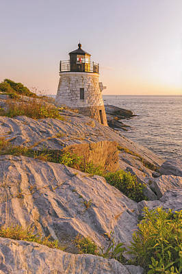 Photograph - Castle Hill Lighthouse Vii by Marianne Campolongo