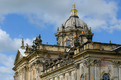 Castle Howard Roofline Art Print