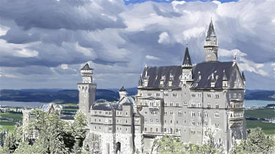 Royalty Free Images Painting - Castle - Id 16218-130627-1895 by S Lurk