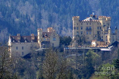 Castle Photograph - Castle In Bavaria by Randall Weidner