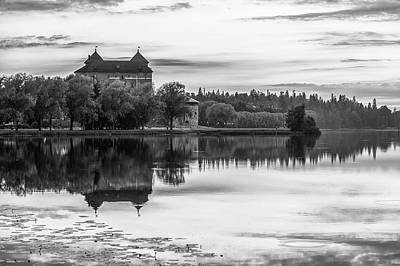 Photograph - Castle In Black And White by Teemu Tretjakov