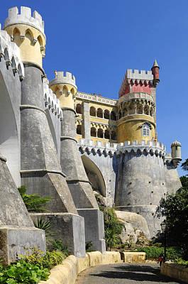 Castle In Color Art Print by Harold Piskiel