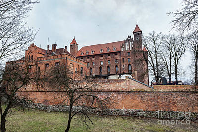 Photograph - Castle In Gniew, Poland by Michal Bednarek