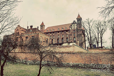 Photograph - Castle In Gniew, Poland. Vintage by Michal Bednarek
