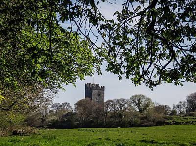 Photograph - Castle In Irish Countryside by James Truett