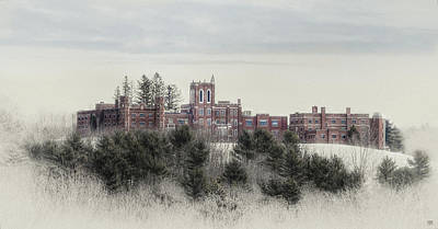 Photograph - Castle In Maine by John Meader