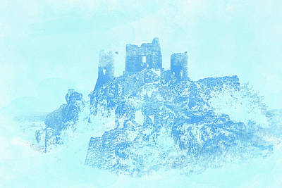 Painting - Castle In The Clouds by Andrea Mazzocchetti